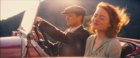 Magic in the Moonlight starring Colin Firth, Emma Stone, Marcia Gay Harden, Jacki Weaver