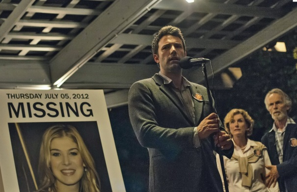 Gone Girl starring Ben Affleck and Rosamund Pike