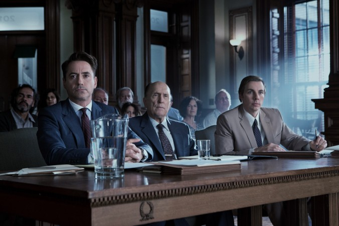 The Judge starring Robert Downey Jr. and Robert Duvall.