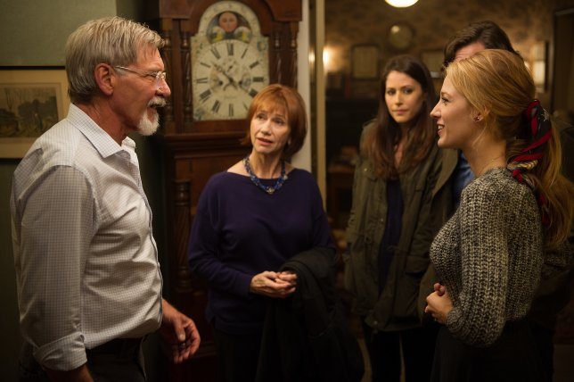 The Age of Adaline starring Blake Lively, Ellen Burstyn, and Harrison Ford.