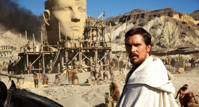 Exodus: Gods and Kings starring Christian Bale,  Joel Edgerton, John Turturro, Aaron Paul, Sigourney Weaver, and Ben Kingsley 20th Century Fox