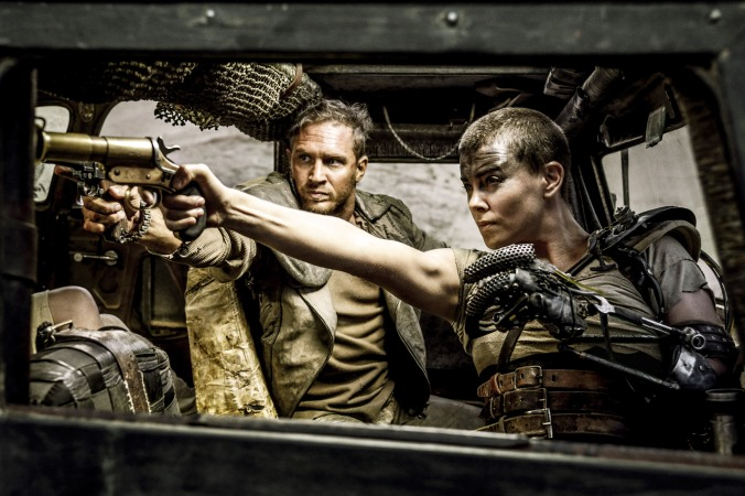 Mad Max: Fury Road Starring Tom Hardy and Charlize Theron. Photo Credit: Jasin Boland© 2015