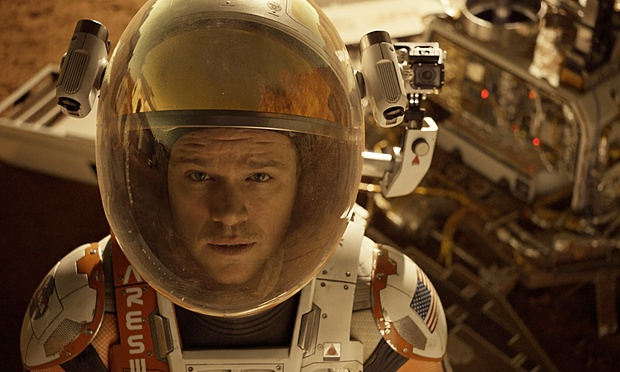 The Martian starring Matt Damon.
