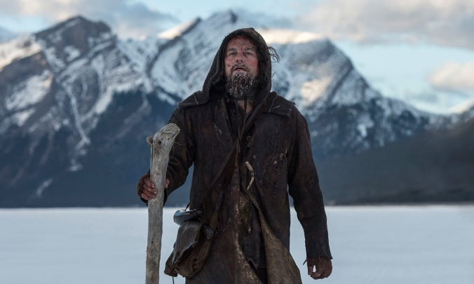 The Revenant starring Leonardo DiCaprio and Tom Hardy. Photo Credit: Everett/Rex/Shutterstock