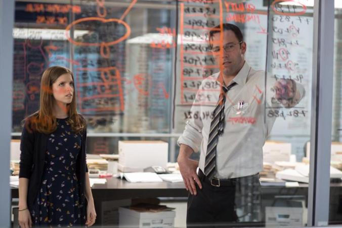 The Accountant starring Ben Affleck, Anna Kendrick, and J.K. Simmons. Photo Credit: Chuck Zlotnick/Warner Bros