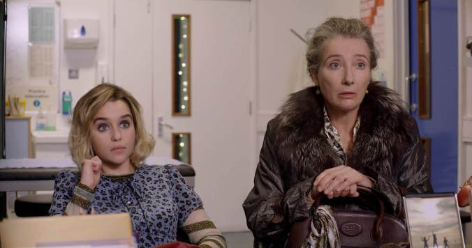 Emilia Clarke and Emma Thompson star in Last Christmas, a romantic comedy.