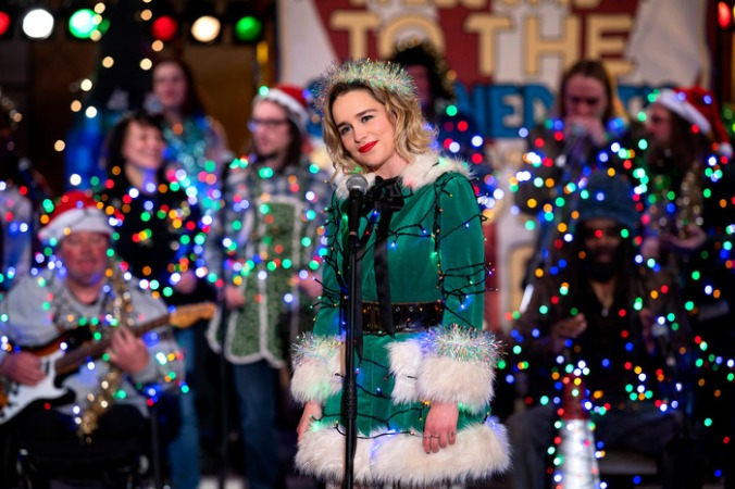 Emilia Clarke in the movie Last Christmas.