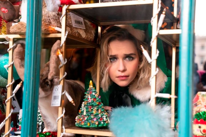 A photo of Emilia Clarke, star of Last Christmas (movie) released in November.